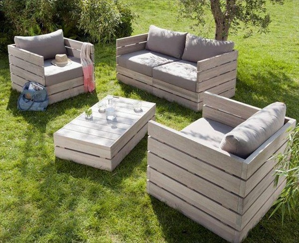 Diy Outdoor Furniture With Pallets Pergola