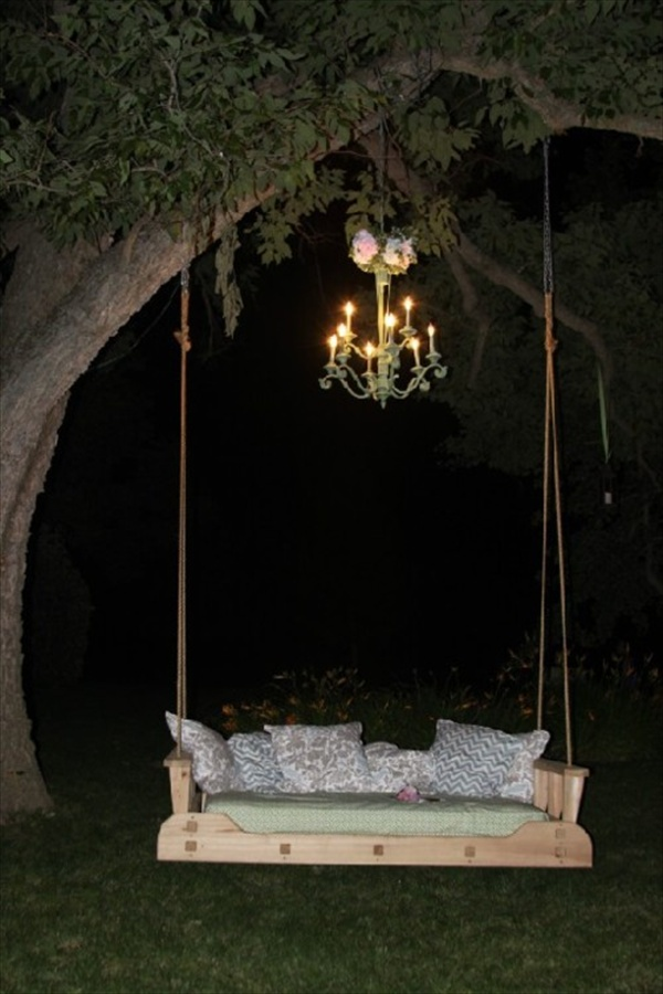 DIY Pallet Swing Plans Chair Bed amp Bench Wooden
