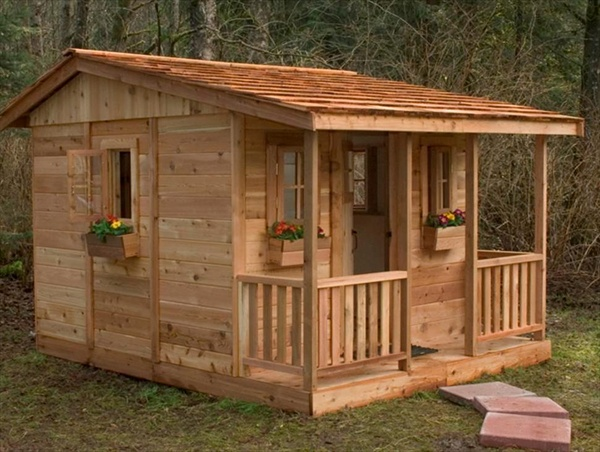 childrens wood playhouse plans woodplans