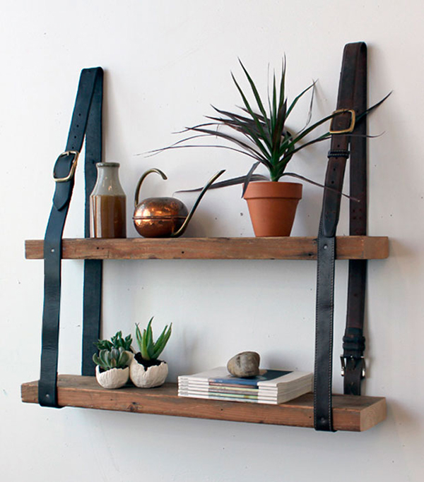 DIY: Pallet Shelves Inexpensive Yet Colorful