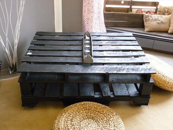20 Amazing DIY Ideas for Pallet Table Wooden Pallet  : pallet table 19 from woodenpalletfurniture.com size 600 x 450 jpeg 120kB