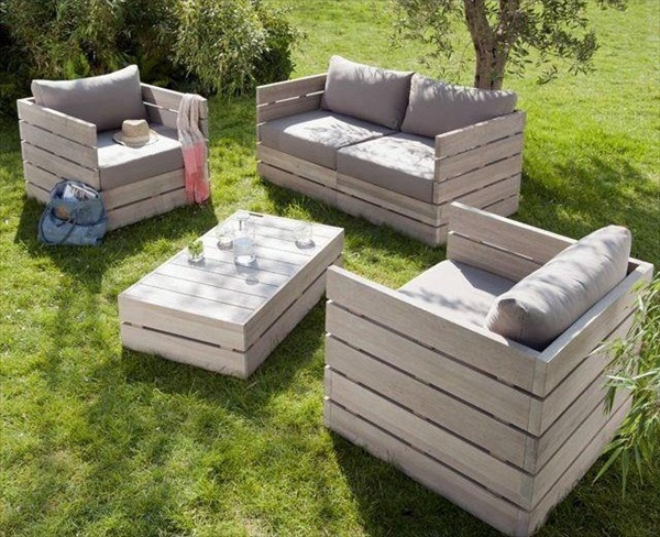 ... Pallet Outdoor Furniture for Modern Look | Wooden Pallet Furniture