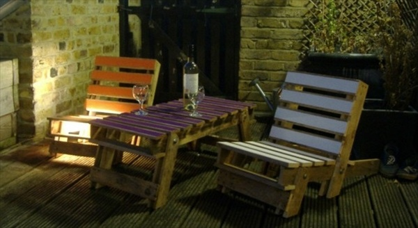 Garden Furniture From Wooden Pallets 39 ideas about pallet outdoor furniture for modern look | wooden
