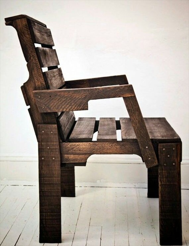 21 Ideas for Awesome Pallet Chair | Wooden Pallet Furniture