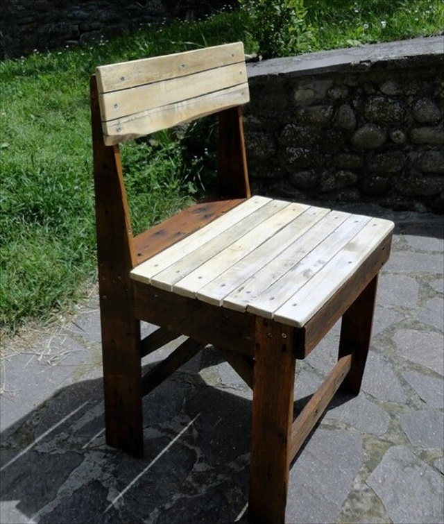 Pallet Kitchen Chairs: 21 Ideas For Awesome Pallet Chair