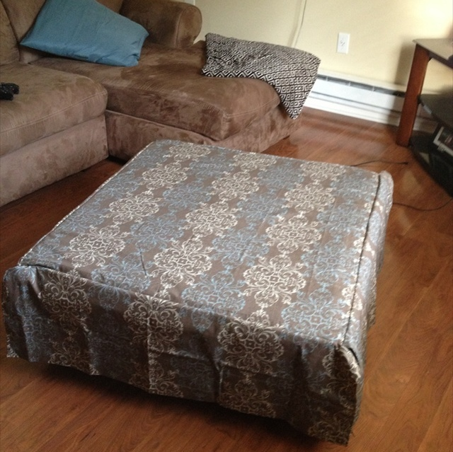 Diy Pallet Ottoman An Affordable Amp Multipurpose Solution