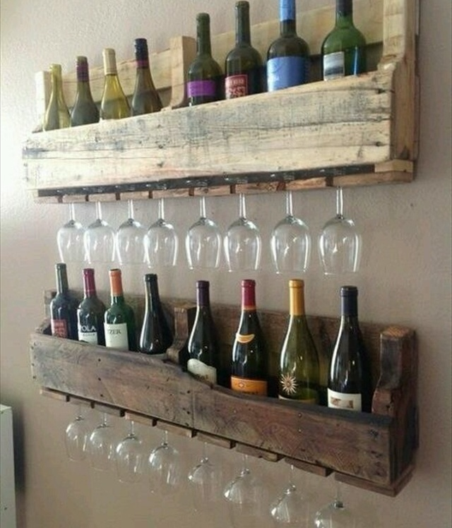 Gallery For gt Wall Wine Rack Ideas