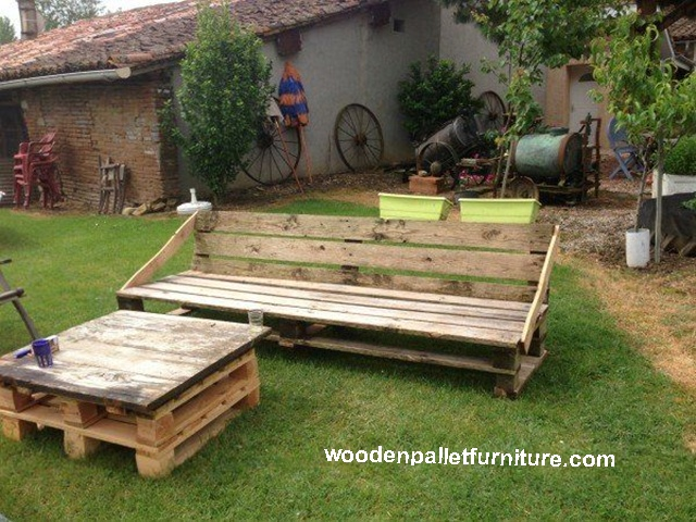 pallet garden set