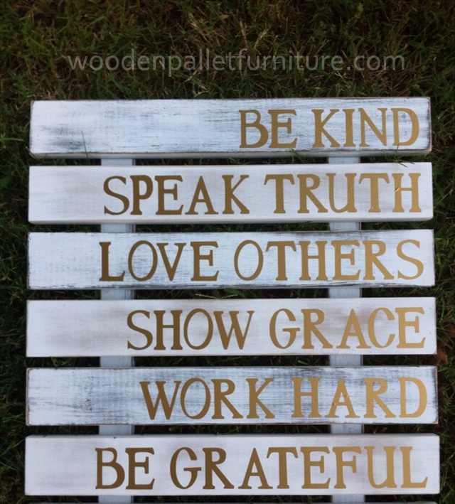 Pallet Sign Art Guide Your Family