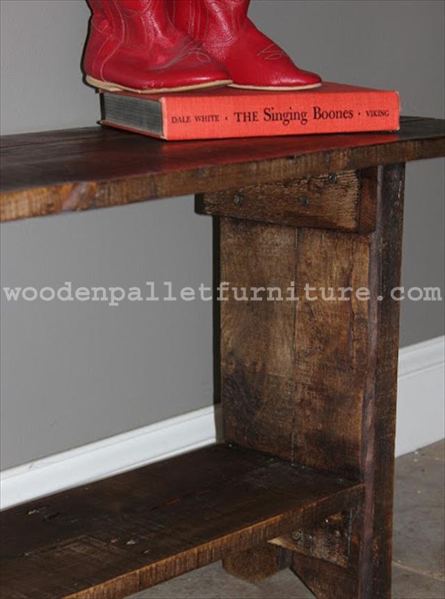 Pallet Wood Bench