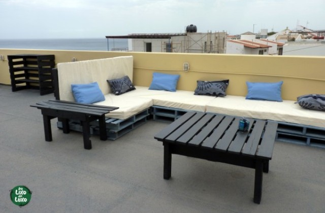 How to Use Pallets to Decorate Your Terrace?