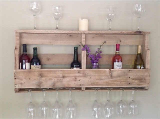 Diy Pallet Wine Rack Plans Pdf Woodworking