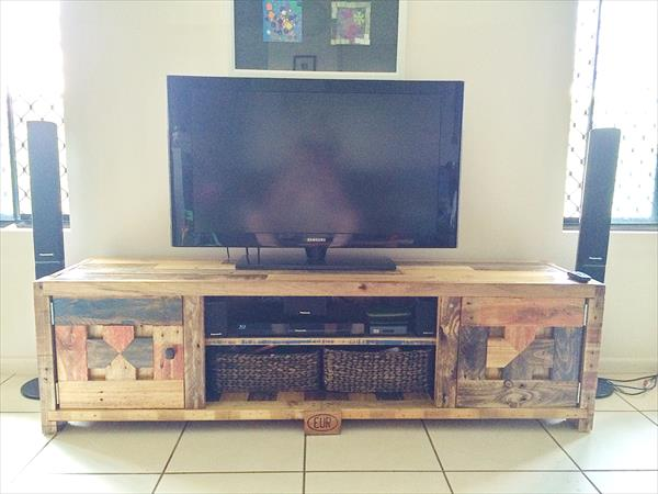 Pallet Coffee Table With Matching Tv Cabinet Wooden