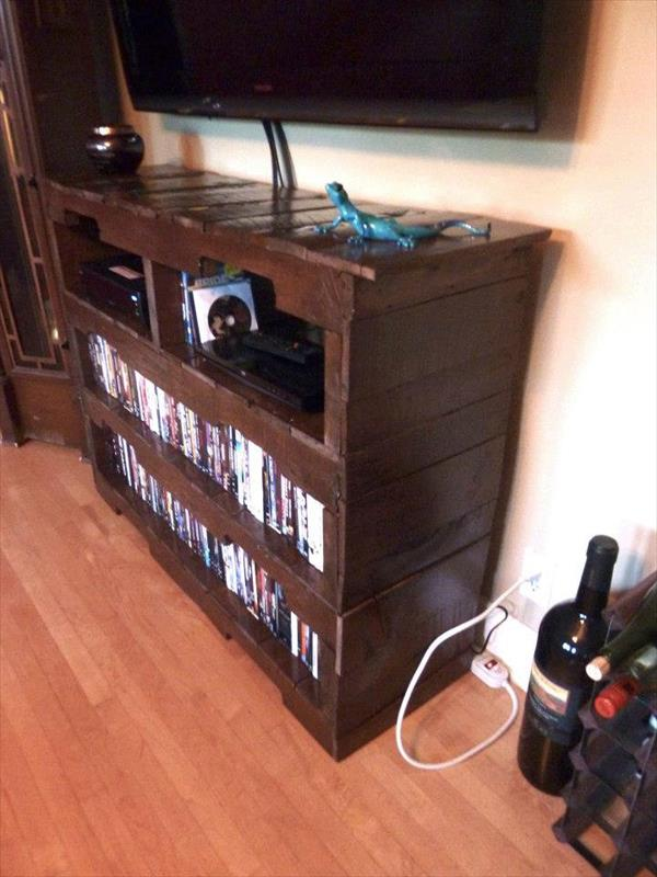 Pallet Television Stand