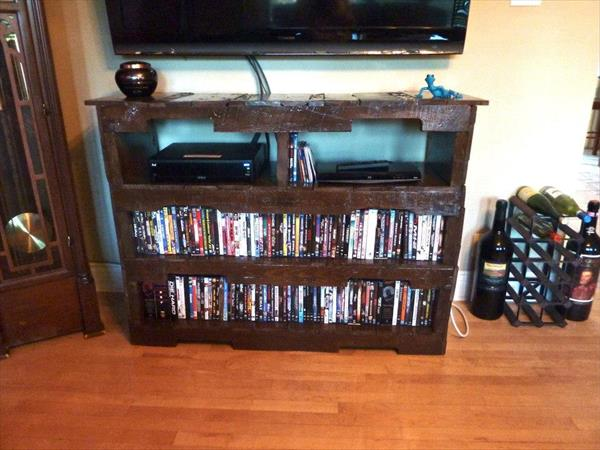 Pallet Wood Television Stand