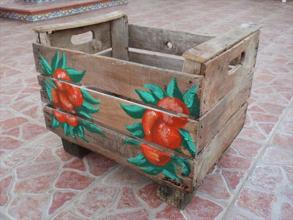 planter box out of pallets