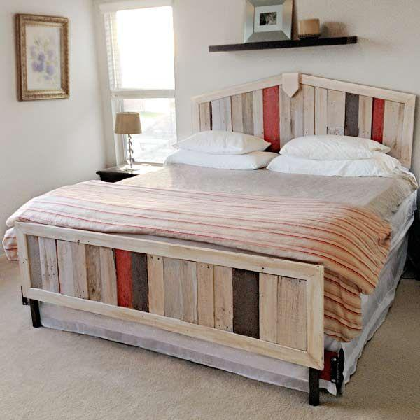 10 diy beds made out of pallets wooden pallet furniture Chairs made out of wooden pallets
