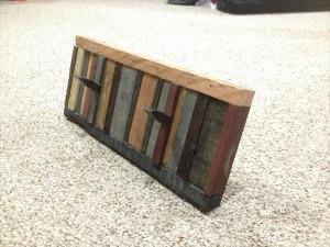repurposed pallet coat rack