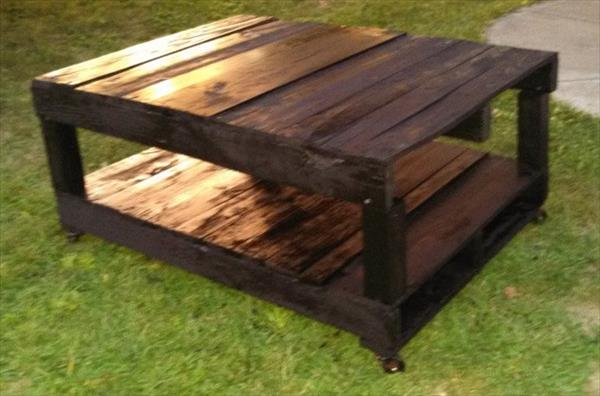 Pallet Art Ideas Shows Your Aesthetic Sense Wooden Pallet Furniture