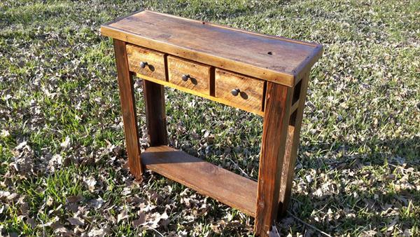 pinterest in entryway console wood quade pin with brown drawers table
