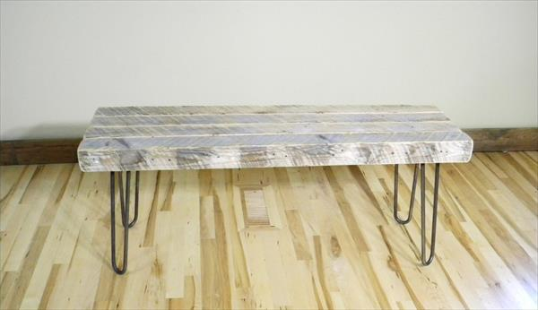 wooden pallet sturdy coffee table
