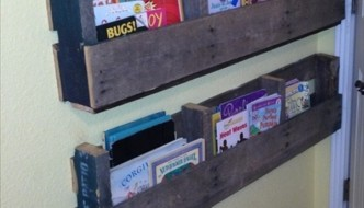 DIY: Pallet Bookshelf Plans or Instructions
