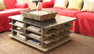 20 Amazing DIY Ideas for Pallet Table