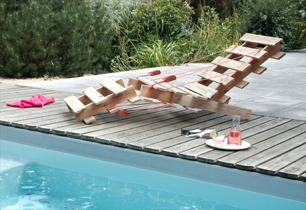 Pallet lounger chair