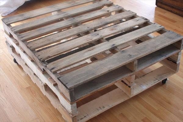 pallet table diy