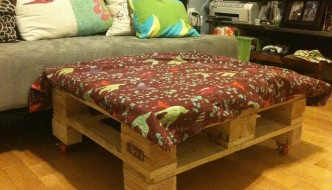 DIY Pallet Ottoman: An Affordable & Multipurpose Solution