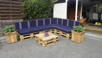garden set made from pallets pallet patio furniture collage - How To Make Garden Furniture Out Of Pallets