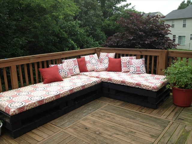 pallet tarrace sofa