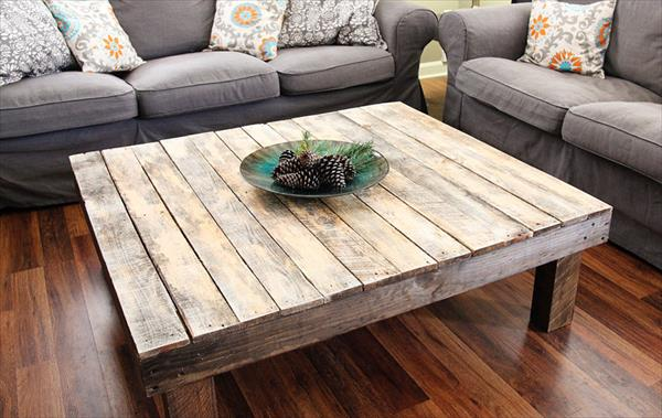 ... DIY Pallet Living Room Cabinet / Side Table DIY Coffee Table From