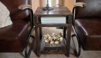 DIY Pallet End Table / Side Table