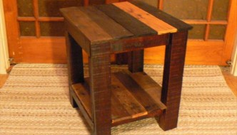 Side Table – End Table from Pallets