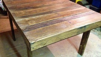 DIY Recycled Pallet Table