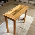 handmade pallet rustic couch table and console table