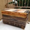 repurposed pallet chest