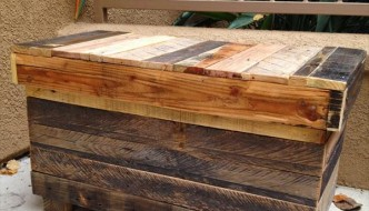 Recycled Rustic Pallet Chest