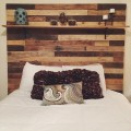 upcycled pallet headboard
