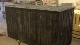 DIY Pallet Large Storage Bin